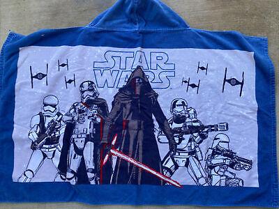 Pottery Barn Kids Star Wars hooded bath towel, Kylo Ren