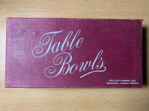 Snooker Table Bowls with wooden chute William Lindop Ltd