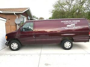 2006 FORD E250 EXTENDED VAN AS IS