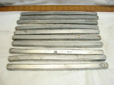 Lot 10 Bars Sn63 Solder 13 Pounds Electronics Old Stock Tin N Lead Soldering