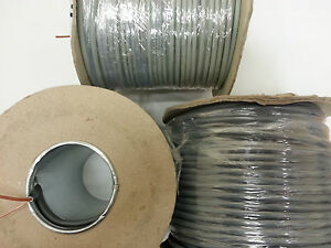 6241Y 1.5MM (100M) BROWN AND EARTH SINGLE LIGHTING CABLE JOB LOT 3 X 100M DRUMS