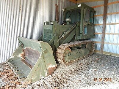 Case 1155e Crawler Loader Bulldozer Military Dozer