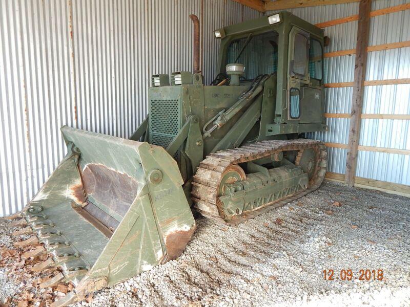 Case 1155E crawler loader bulldozer military dozer