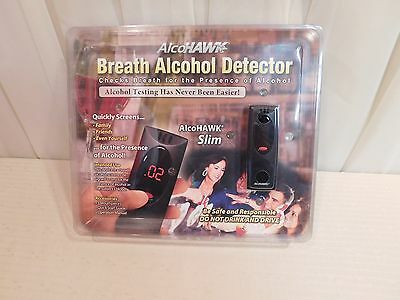 Alcohawk Slim Breathalyzer Digital Alcohol Detector New in Box