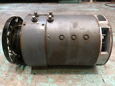36v 48v Hyster Electric Forklift Vehicle Main Drive Traction Motor 11in.