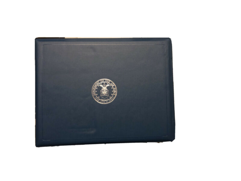 Department Of The United States Air Force Commendation Certificate Holder