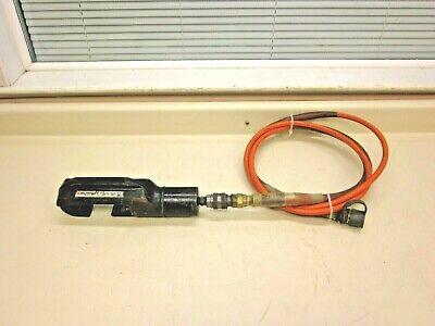 Burndy Hypress Y46 10k Psi Hydraulic Crimping Tool W Hose Free Shipping