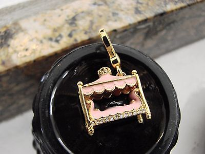 Juicy Couture Dog Bed Charm Scotty Dog New no box or tags