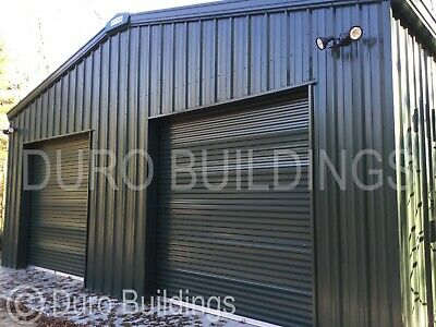 Durobeam Steel 50x75x14 Metal Frame I-beam Buildings Auto Salvage Garages Direct