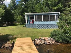 Beautiful rustic cottage for rent on Lake Nosbonsing