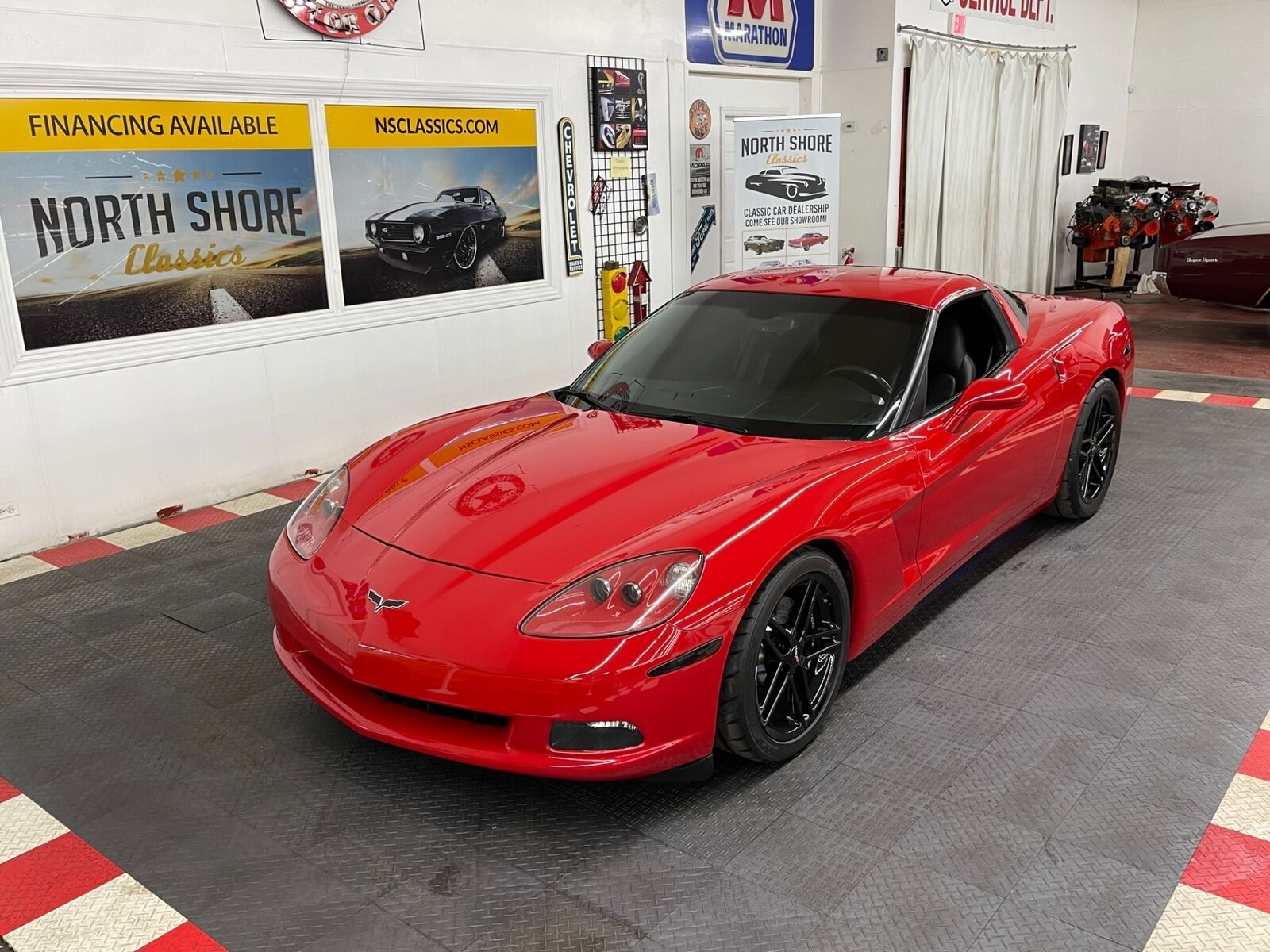 2007 Red Chevrolet Corvette   | C6 Corvette Photo 1