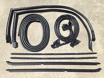 84-87 Buick Regal Grand National 9 pc Hard-Top Weatherstripping Kit