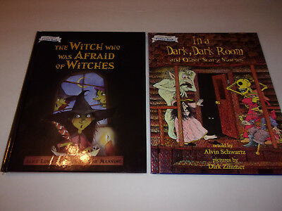 (2) Large hardcover I Can Read Picture books Halloween  (ExcCond)   (Halloween Reading Books)