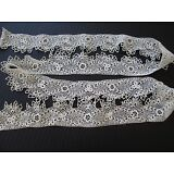 "ANTIQUE IRISH CROCHET LACE TRIM/ EDGING..ANTIQUE DOLL CLOTHING..64"" X 2"""