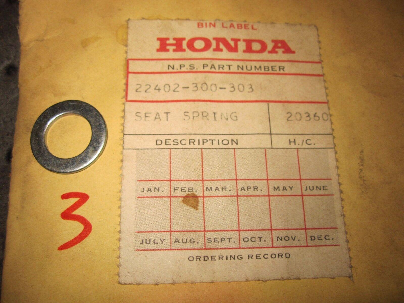 NOS OEM Honda 1969 1970 CB750 Clutch Spring Seat 22402-300-303