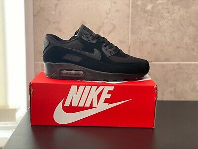 Nike air max 90 triple black new boxed uk men sizes