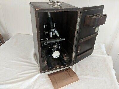 Bausch Lomb Microscope Case - 10x43x97x Oil Sn 289651