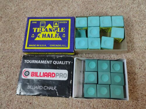 Pool Cue Chalk Various Pioneer, Talisman, Triangle Chalk Pool Snooker Billiards