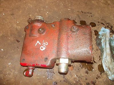 International 340 Utility Tractor Ih Ihc Hydraulic Valve Block Left Side Mount