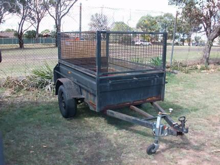 box trailer 7x4 H/D