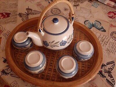 Juego de TE porcelana china pintada a mano