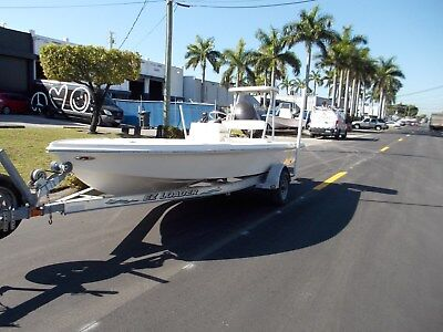 2004 Key West Flats1760 Stealth with 2000 Yamaha 100 HP 4 Stroke & Trailer