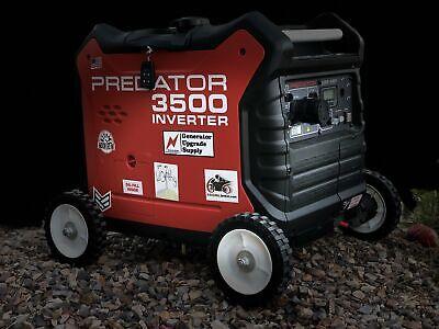 Wheel Upgrade Kit 6 Wheels For Predator 3500 Inverter Generator
