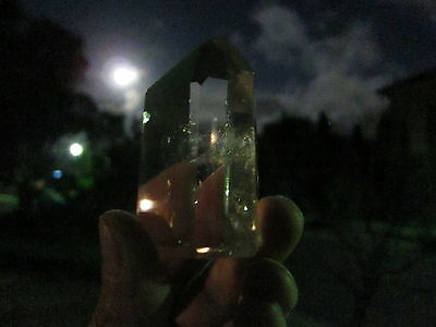 Clean and Charge under a full moon:)