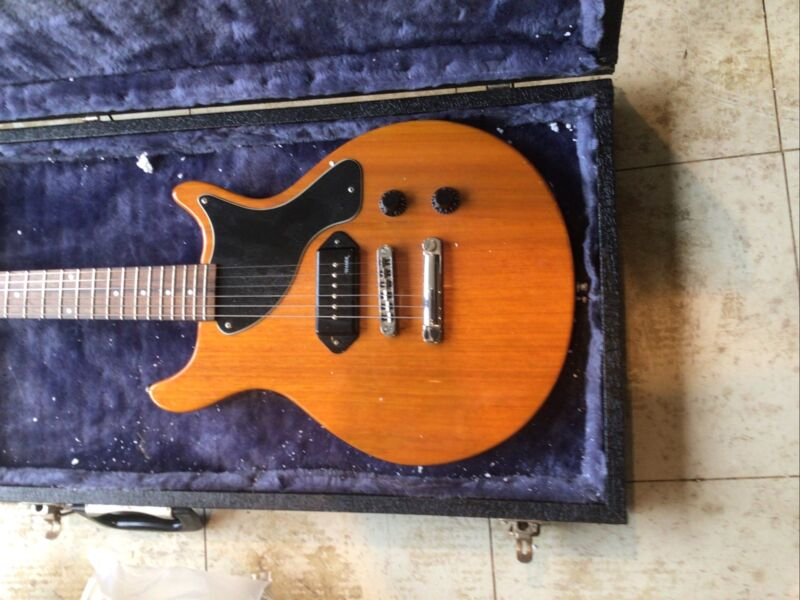 Hamer Les Paul Junior Dc Double Cut Away . Beautiful Rock'n'roll Machine & Case