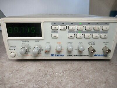 Gw Goodwill Instek Gfg-8210 Function Generator 1601a