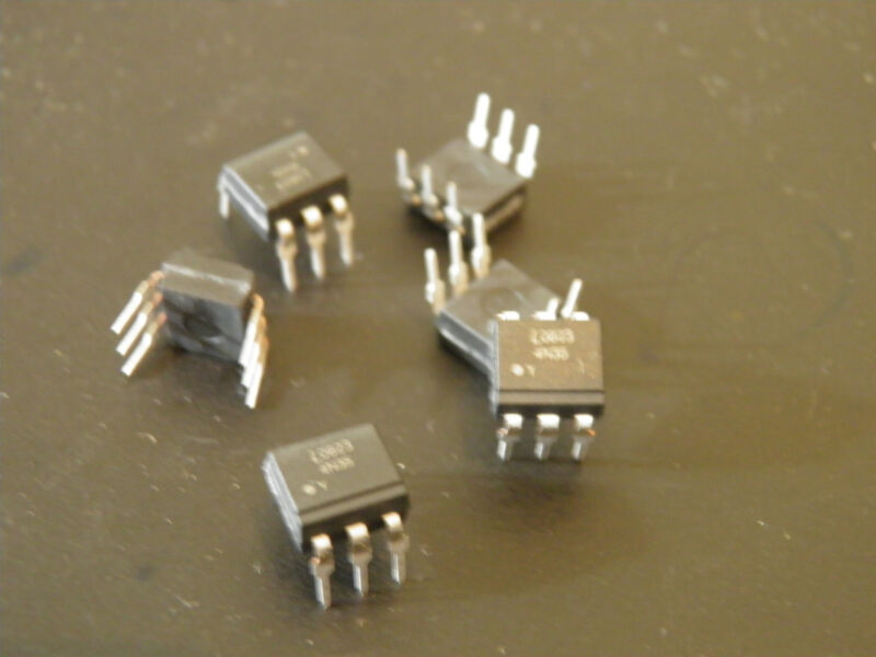 Lite-On 4N35 Optocoupler DC-IN 1-CH Transistor DC-OUT 65pcs/lot 11 lots