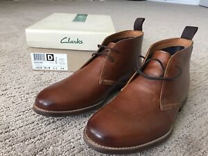 •Brand New & Never Worn• Men's Leather Boots Size 10.5