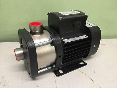 Grundfos Cm3-2 A-s-i-e-aqqe E-a-a-n 3 Phase Booster Pump 12 Hp