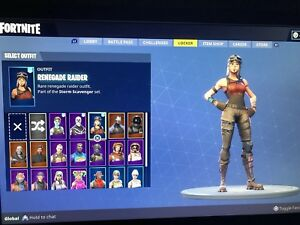 Renegade Raider Account