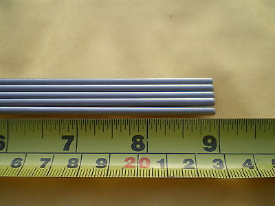 5 Pcs. Stainless Steel Round Rod 304 532 .156 4mm. X 9 Long