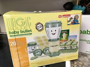 Baby Bullet Baby Food Blender System