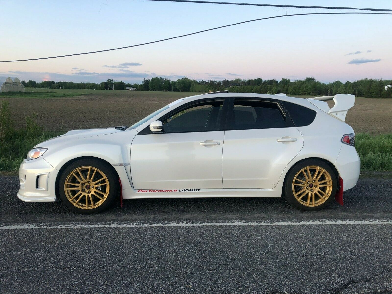 2012 Subaru WRX STI Sporttech (LP400R)