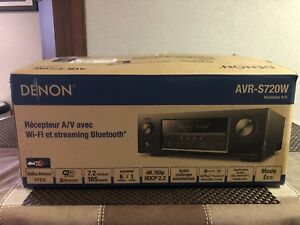 Denon AVR-S720W A/V Receiver with Wi-Fi & Bluetooth Streaming.