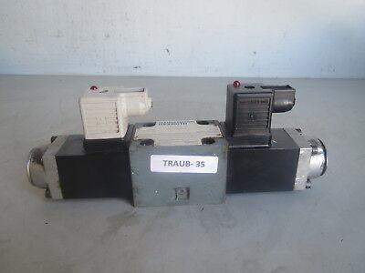 Traub Rexroth Directional Solenoid Valve 4we 6 D53ofag24nk4 Lot Traub-35 Remi