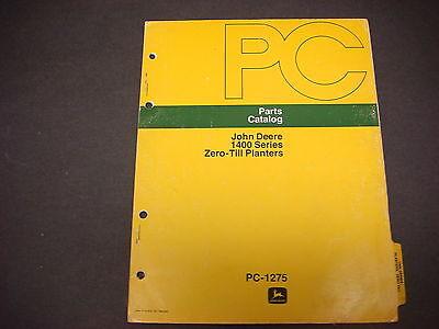 John Deere Parts Catalog No.pc-12751400 Series Zero Till Planters32 Pages