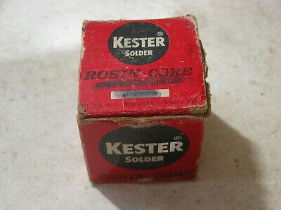 Vintage Kester Solder Rosin-core 4060