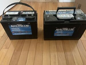2 NAUTILUS DEEP CYCLE BATTERIES