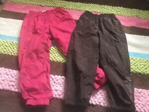 **Girls insulated pants**Size 4-5**$10 for both**