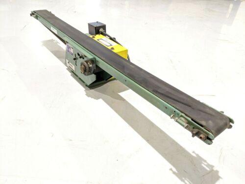 """IT Equipment SMCD MINI-Beltveyor Conveyor 48"""" OAL w/ Leeson CM34D25NZ18B"""