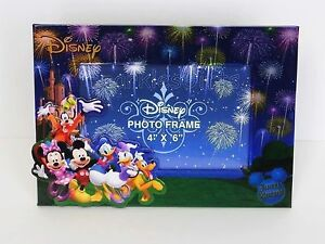disney mickey gang mickey minnie goofy donald daisy pluto picture photo frame