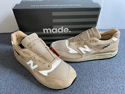 NEW BALANCE 998 BLC - Made in USA - size 9 UK *NEW* 'SUPER FABRIC' sneakers LTD