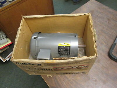 Baldor Ac Motor Vm3556t 1hp 1200rpm Fr145tc Encltefc 208-230460v New Surplus