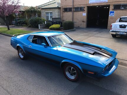 1973 Ford Mustang Mach 1 , 429 V8- 4V Automatic $48,990 Royal Park Charles Sturt Area Preview