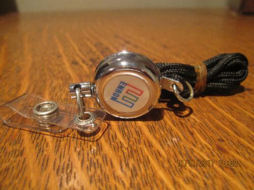NEW-RARE--ENRON Lanyard w/Retractable Badge Holder