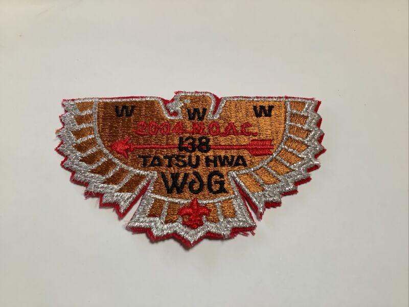 OA Lodge 138 Ta Tsu Hwa 2004 NOAC Fund Raiser Copper Bird